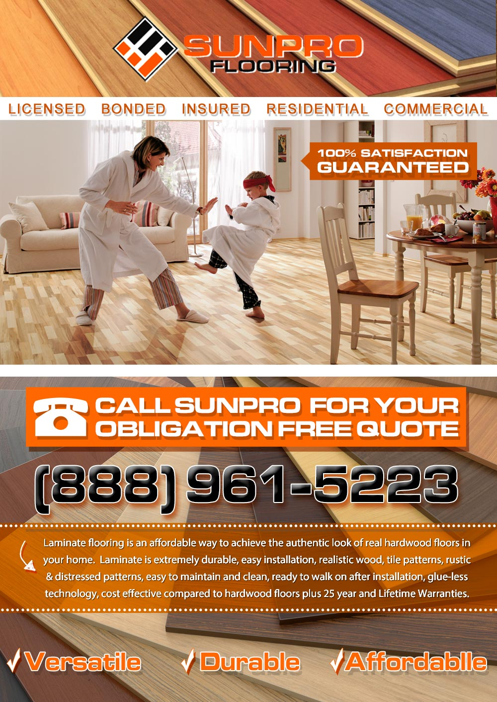 Laminate Floor Installations And Cleaning Services In Los Angeles